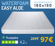 Water Foam Easy Aloe
